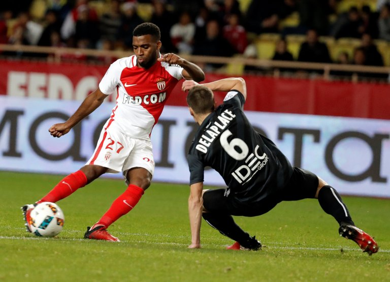 Football Soccer - Monaco v Caen - French Ligue 1