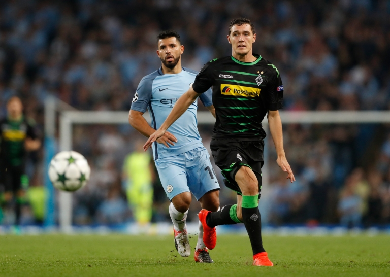 Manchester City v Borussia Monchengladbach - UEFA Champions League Group Stage - Group C